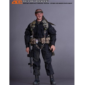 "Boxed Figure: ACE US Vietnam ERA MAC V SOG ""BlackJack"" (13005)"
