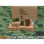 Supply Set: ACE Vietnam War US ARMY C-Ration (13021)