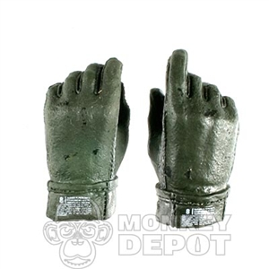 Hands ACE Nomex Gloved Green