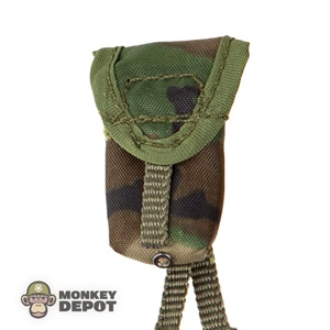Pouch: ACE M4 Magazine Single Woodland MOLLE