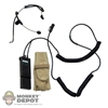 Radio ACE Stinger T Headset w/ Saber Radio and Pouch