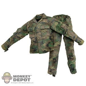 Fatigues ACE Woodland BDU Weathered