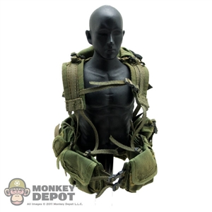 Vest ACE Riverine Gunner Load Bearing Assault Vest 1195K