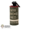 Grenade: Ace M18 Smoke Grenade Red