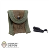 Pouch: Ace Jungle Compass Pouch w/Alice Clip (Slightly Aged)