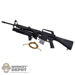 Rifle: Ace M16 A1 Rifle w/XM148 Grenade Launcher