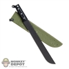 Knife: Ace M1942 Machete w/Sheath