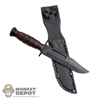 Knife: Ace Ka-bar Combat Knife w/Sheath