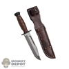 Knife: ACE Ka-Bar Knife w/Sheath