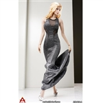 Outfit: ACPlay Sleeveless Mermaid Gown In Silver (AP-ATX014A)