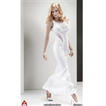 Outfit: ACPlay Sleeveless Mermaid Gown In White (AP-ATX014B)