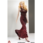 Outfit: ACPlay Sleeveless Mermaid Gown In Red (AP-ATX014C)