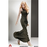 Outfit: ACPlay Sleeveless Mermaid Gown In Gold (AP-ATX014D)