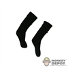 Socks: Art Figures Black Socks