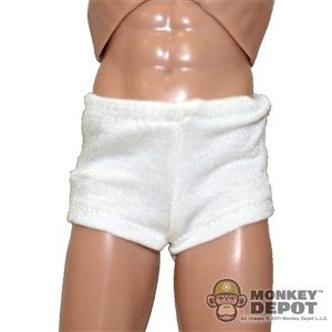Shorts: Art Figures White Boxer Briefs