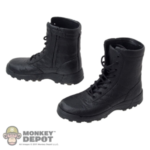 Boots: Art Figures Black Tactical Boots