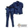 Uniform: Art Figures Blue LA Swat Police Uniform