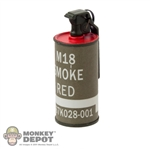 Grenade: Art Figures Smoke Grenade Red