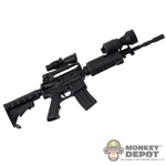 Rifle: Art Figures M4 Rifle w/ACOG Sight & Tactical Light