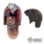 Head: Art Figures Artistic Interpretation Head w/Hair & Helmet