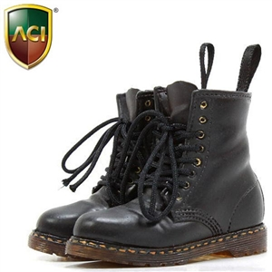 Boots: ACI Toys Fashion Boots Black (ACI-729A)