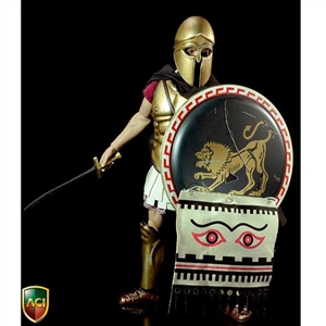 Boxed Figure: ACI 1/6 Warrior Series Greek Hoplite Bronze Helmet Ver. (ACI17A)