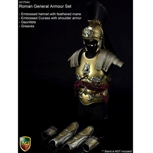 Boxed Figure: ACI 1/6 Roman General Armour Set (ACI754A)