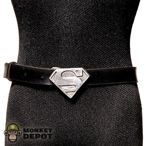 Belt: ACI Black W/ Super-Hero Buckle