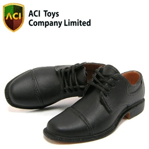 Shoes: ACI Black Dress Shoes - Matte (742)
