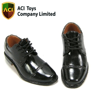 Shoes: ACI Black Dress Shoes - Gloss (743)