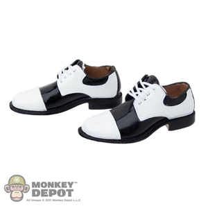 Shoes: ACI White Tip Saddle Shoes