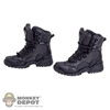 Boots: ACI Toys Tactical Boots Spider Black