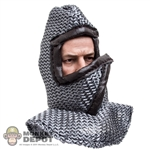 Hood: ACI Chainmail Mask w/Leather