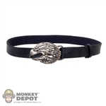 Belt: ACI Black Leatherlike w/Eagle Buckle