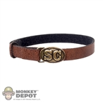 Belt: ACI Brown Leatherlike w/SC Buckle