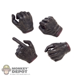 Hands: ACI Brown Gloved Set