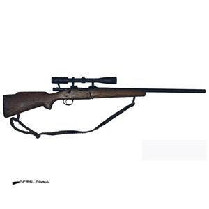 Rifle: Arms Lab Remington 700 Real Metal and Wood