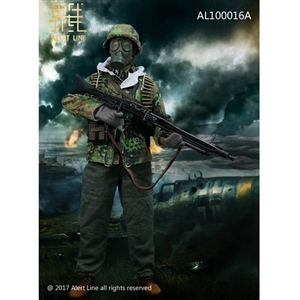 Uniform Set: Alert Line WWII German SS MG42 Machine Gunner Set (AL-10016A)