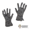 Gloves: Alert Line Gray Gloves