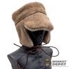 Hat: Alert Line Russian Fur Flap Cap w/Badge