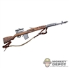 Rifle: Alert Line WWII Russian SVT40 Sniper Rifle