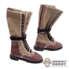 Boots: Alert Line German WWII Tropical Canvas Tall