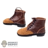 Boots: Alert Line German WWII Ankle Boots