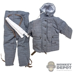 Uniform: Alert Line Blue/Gray Reversible Cotton-Padded Uniform