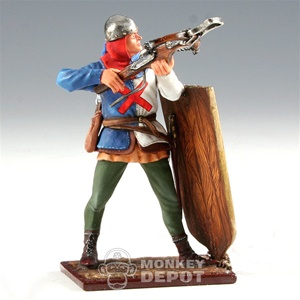 The St. Petersburg Collection 6235: Burgundian Infantry w/Crossbow and Pavise