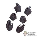 Hands: Asmus Toys Molded Gloved Hand Set