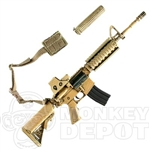 Rifle BBi M4 Carbine EO Tech, Silencer, Single Point MOLLE Sling