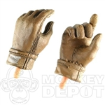 Hands BBi Coyote Nomex Gloved
