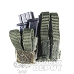 Pouch BBi Combo Rifle/Pistol Green No Mags Included