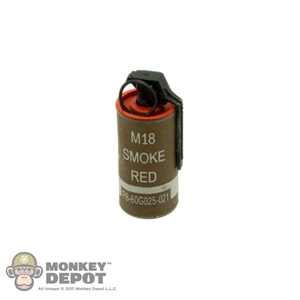 Grenade BBi US WWII Smoke Canister RED